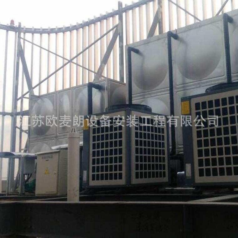 欧麦朗学校工地工厂公寓宿舍空气能热水器系统方案 空气能热泵工程报价示例图5