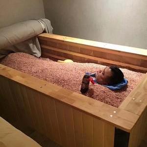 沙灸床安装,美容院沙疗养生床设备厂家,直销新疆沙疗定制,沙疗床,矿疗床