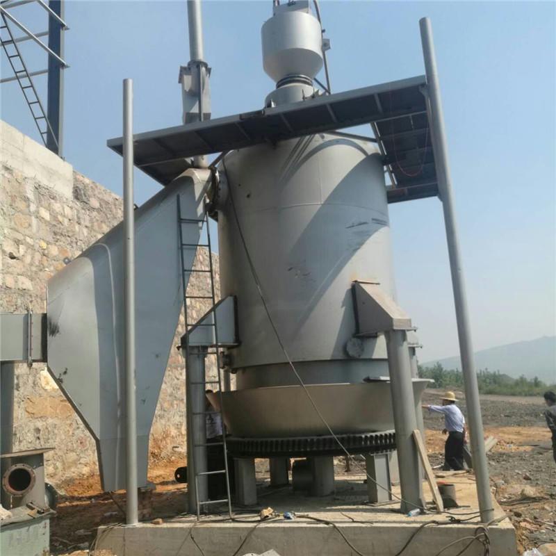 衡陽污泥烘干設備用煤氣發生爐選型2.4米煤氣發生爐