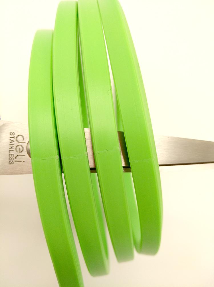 日字型两面纹路硅胶条 玻璃饭盒、玻璃保鲜碗硅胶密封圈密封圈示例图8