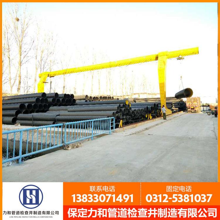力和管道网上直销 HDPE钢带管 PE钢带管 质量保证 DN600价格示例图12
