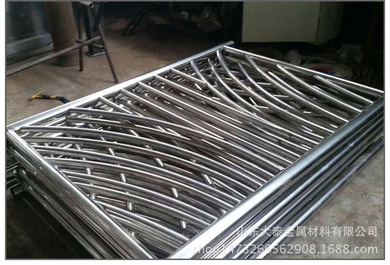 護欄鋼板立柱 不銹鋼復合管護欄鋼板立柱 防撞護欄鋼板立柱加工示例圖13