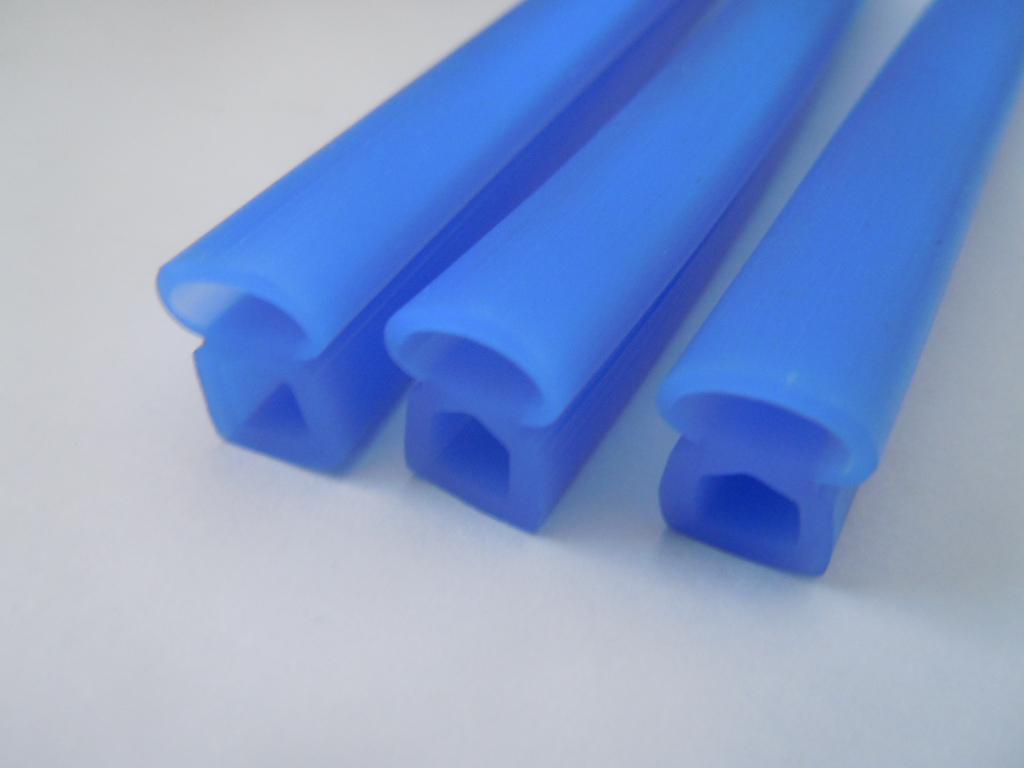 工业硅胶发泡异形条门窗机械耐高温密封条示例图8