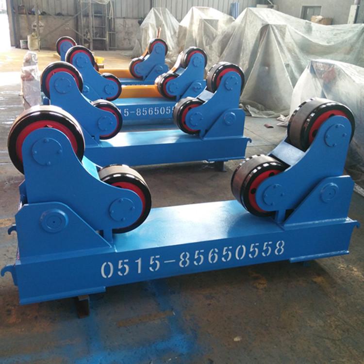 60吨自调式焊接滚轮架江苏厂家2018款  按需定制各种规格滚轮架示例图6