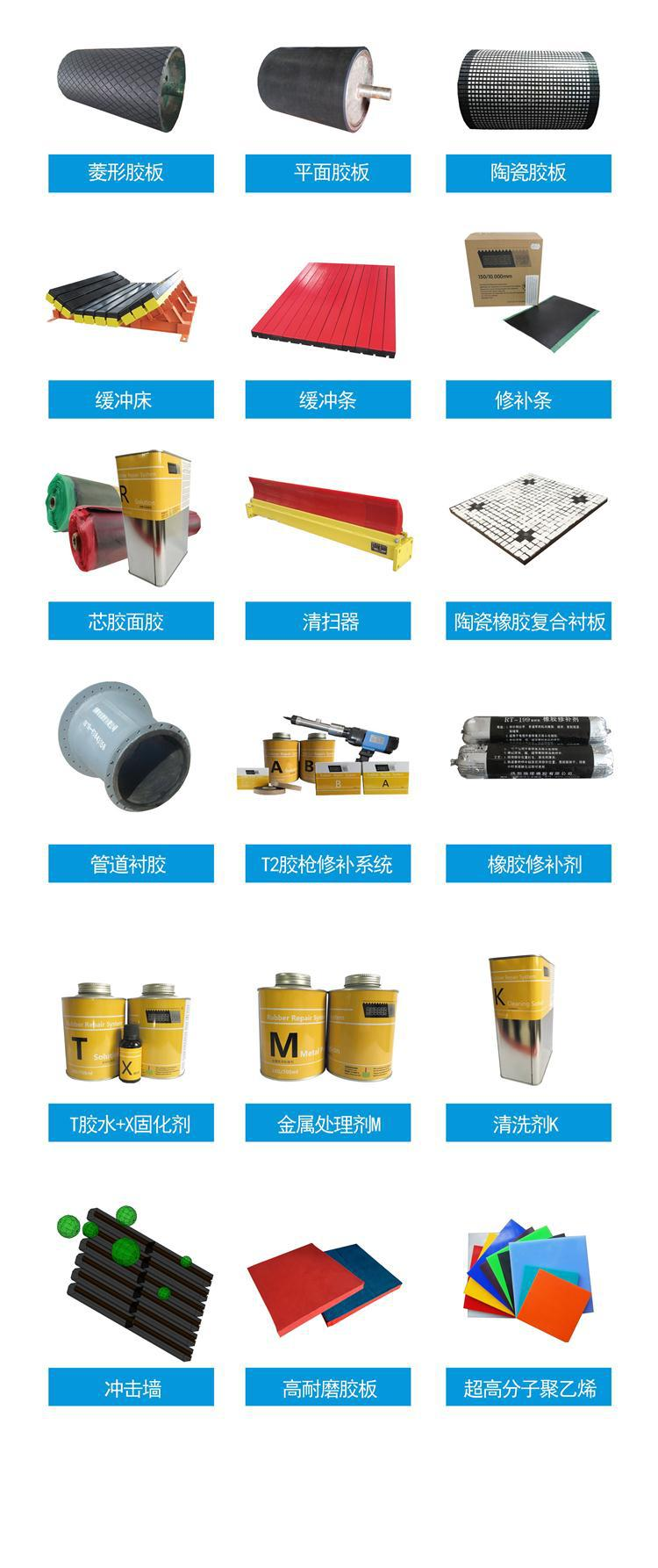 内蒙 山西滚筒冷硫化耐磨包胶胶板,12mm15mm耐磨包胶板示例图23