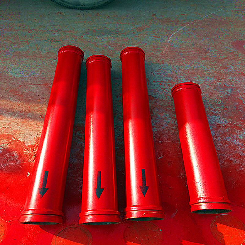 沧州双层泵管厂家引荐 3米双层泵管 55mn双层耐磨泵管示例图4