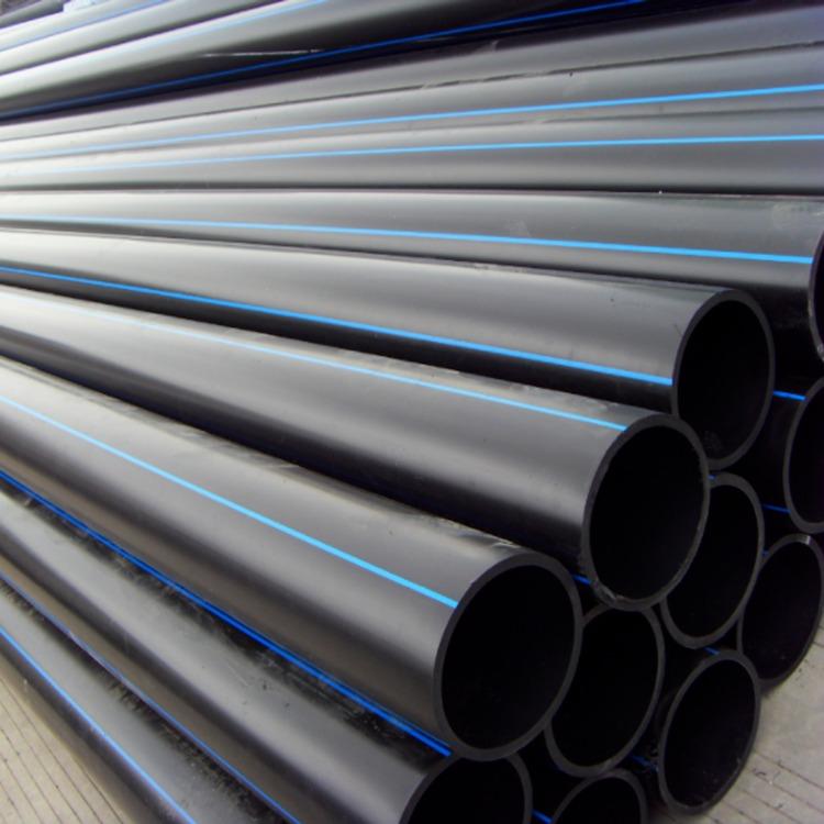 pe管廠家直銷 hdpe給水管 pe黑色塑料管 自來水管 給水專用管 pe管75mm PE管價格 四川pe管生產廠家