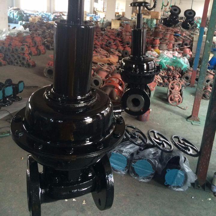 生产气动衬胶隔膜阀EG6K41J英标常开式