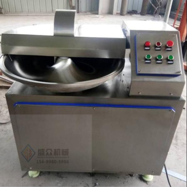全自動斬拌機 大型斬拌機商用 成套肉制品加工設備量身定制
