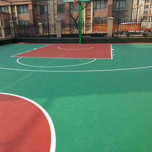 硅PU球場施工 硅PU球場材料價格 硅PU籃球場 硅PU網球場 硅PU羽毛球場 硅PU彈性層  硅PU球場材料