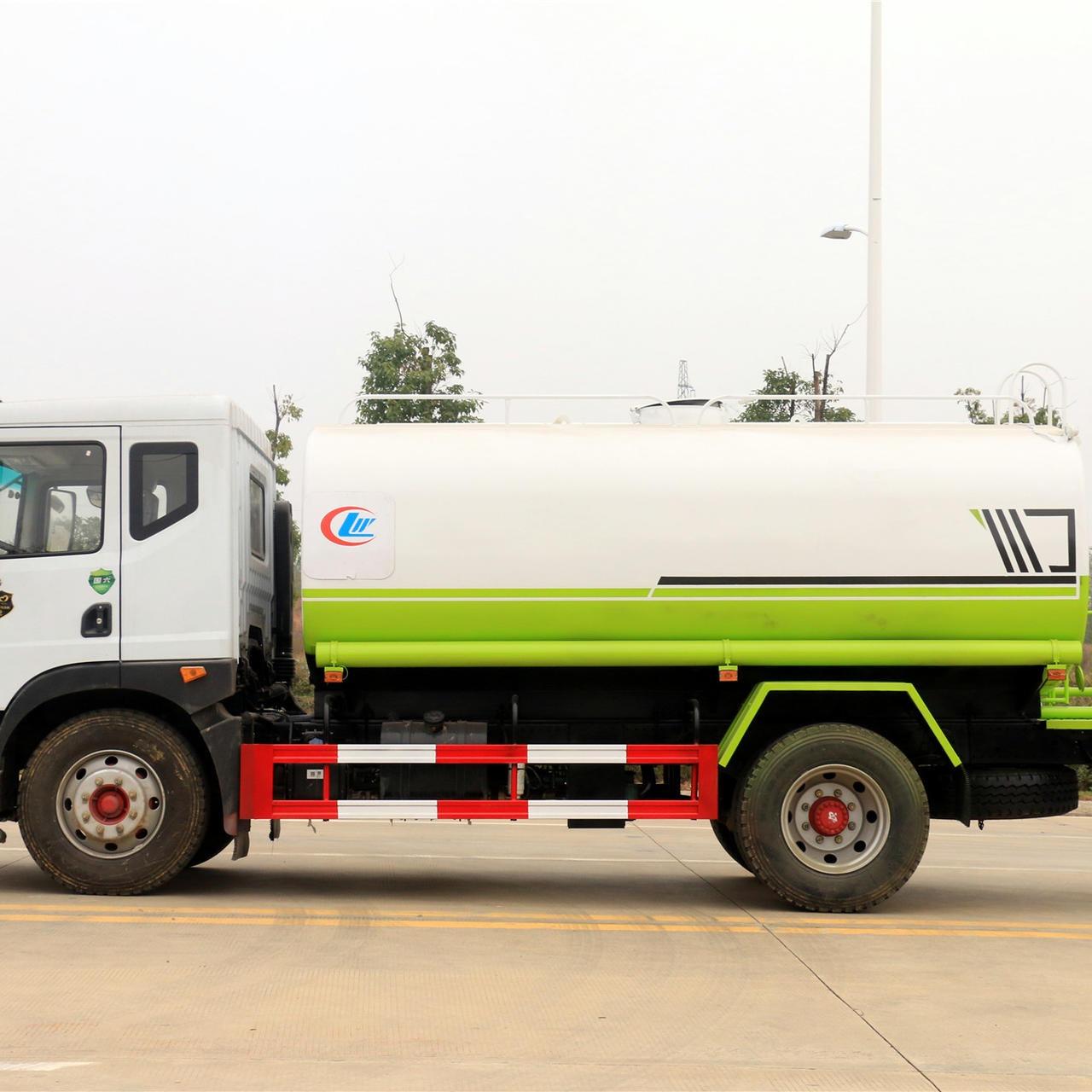 國六東風多利卡12噸環衛灑水車程力集團廠家直銷可分期