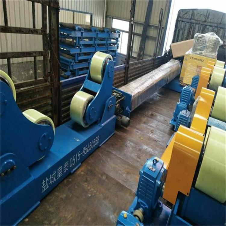 可调式滚轮架江苏厂家直销2015款100吨自调式滚轮架示例图5