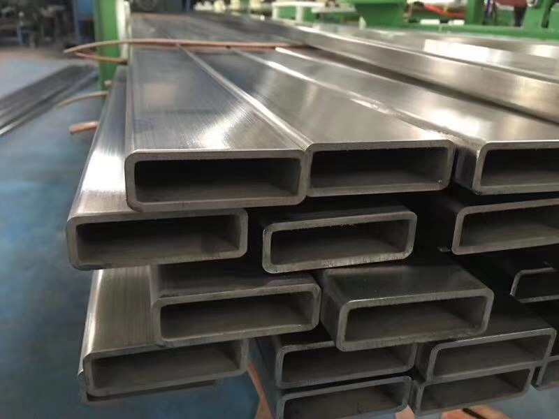 机械设备用  304不锈钢方管40*60*3.0厚壁拉丝 耐腐蚀矩形管示例图2
