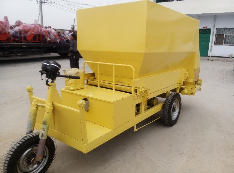 柴油动力撒料车 电动撒料车 养殖饲料撒料车 养殖机械设备撒料车示例图8