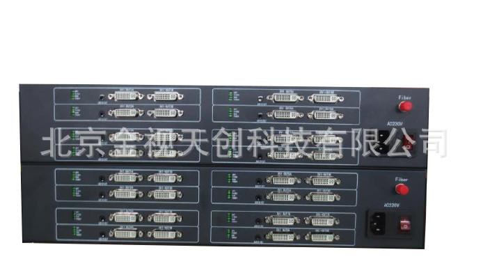 4路双向DVI光端机双向4路DVI光端机4路双向高清DVI光端机示例图1