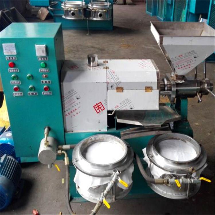 立式液压榨油机设备 茶籽榨油机设备销售示例图7