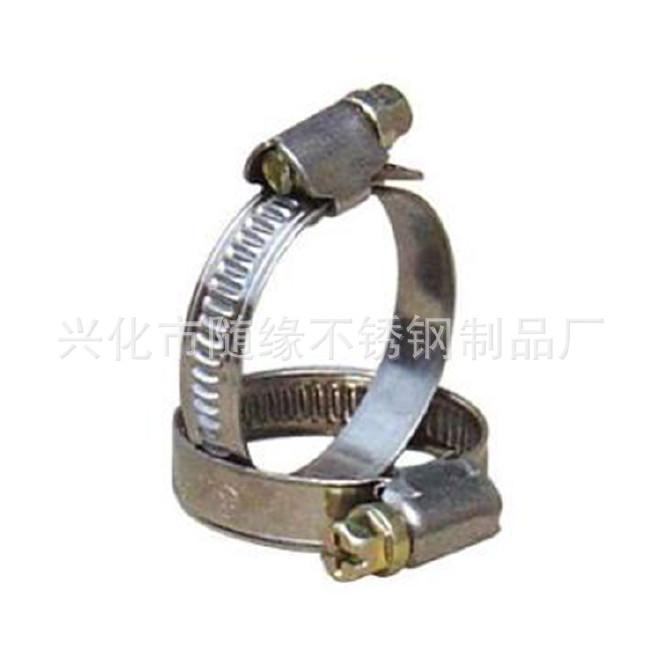 厂家生产不锈钢强力箍12mm美式304不锈钢喉箍 固定卡箍抱箍规格齐示例图9