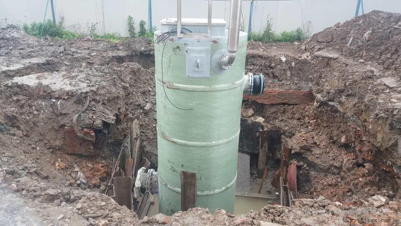 一體式預制泵站|玻璃鋼一體化泵站|污水處理成套設備廠家示例圖4