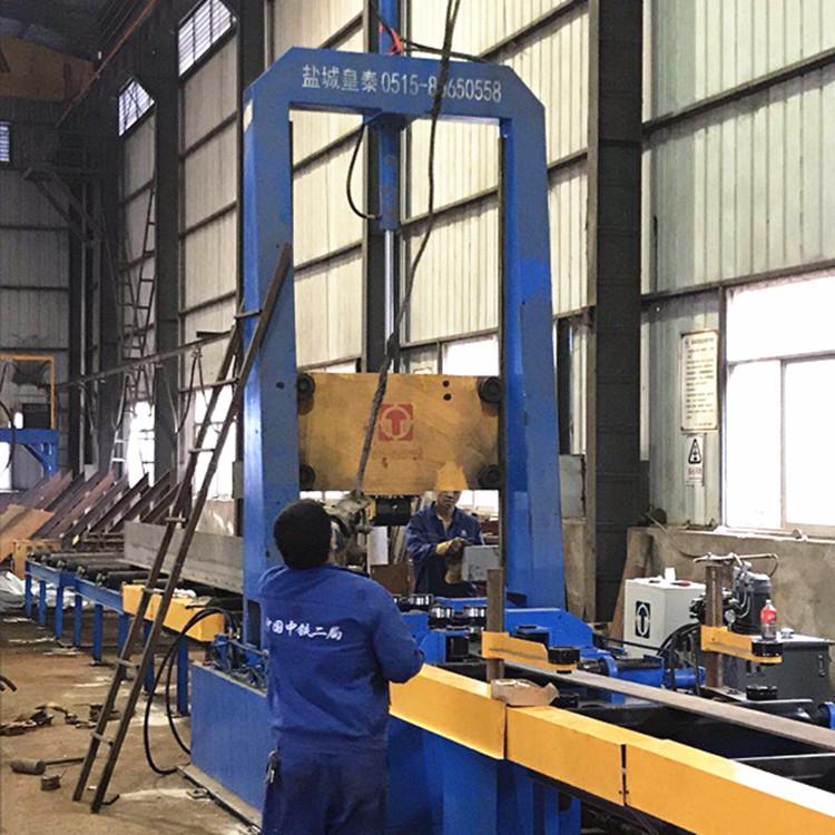 厂家直销60B型重钢液压矫正机 操作方便皇泰H型钢重钢矫正机示例图4