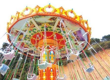 供应游乐场24座豪华飞椅 公园户外大型游乐项目飓风飞椅大洋直销示例图11