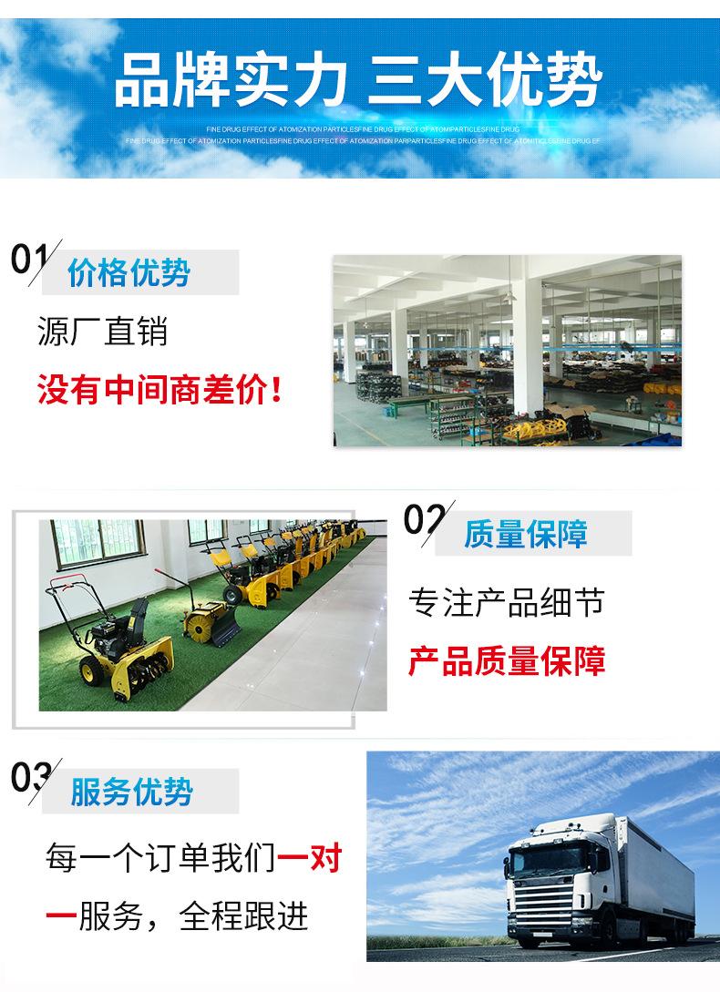 小型吸叶机 高效路面吸叶机 北京多功能吹吸叶机 落叶清扫设备示例图10