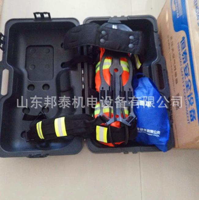 3C消防�J�C呼吸器配件RHZK6.8消防呼吸器面罩 救生器材全面罩示例�D14