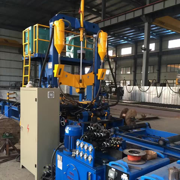 H型钢生产线江苏厂家直销上海 现货批发西安钢结构生产线设备示例图1