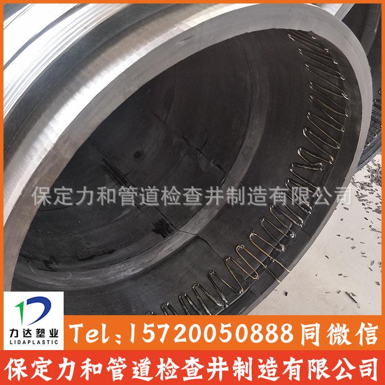 高密度聚乙烯缠绕结构壁B型管 克拉管 保定力和管道制造有限公司示例图11
