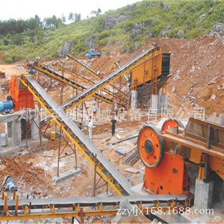 砂石骨料破碎生产线 200T青石制砂生产线 矿山制砂整套石料生产线示例图9