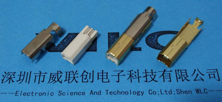 7. BM 三件套 焊线式公头 外壳镀金 1U`示例图1
