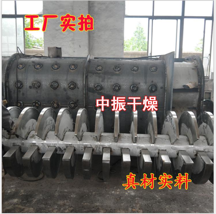 空心桨叶干燥机 污泥 染料干燥机 双轴桨叶干燥机示例图15