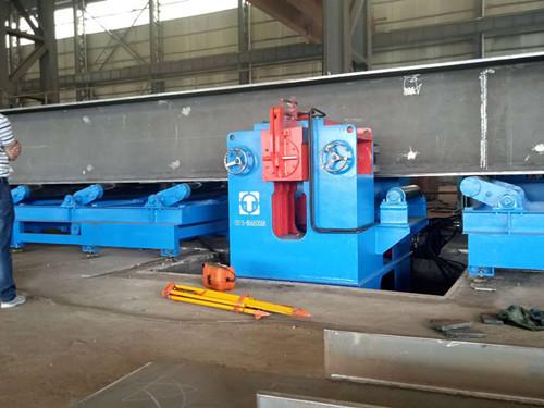 H型钢生产线设备 非标定制  现货批发江苏厂家H型钢生产线设备示例图2