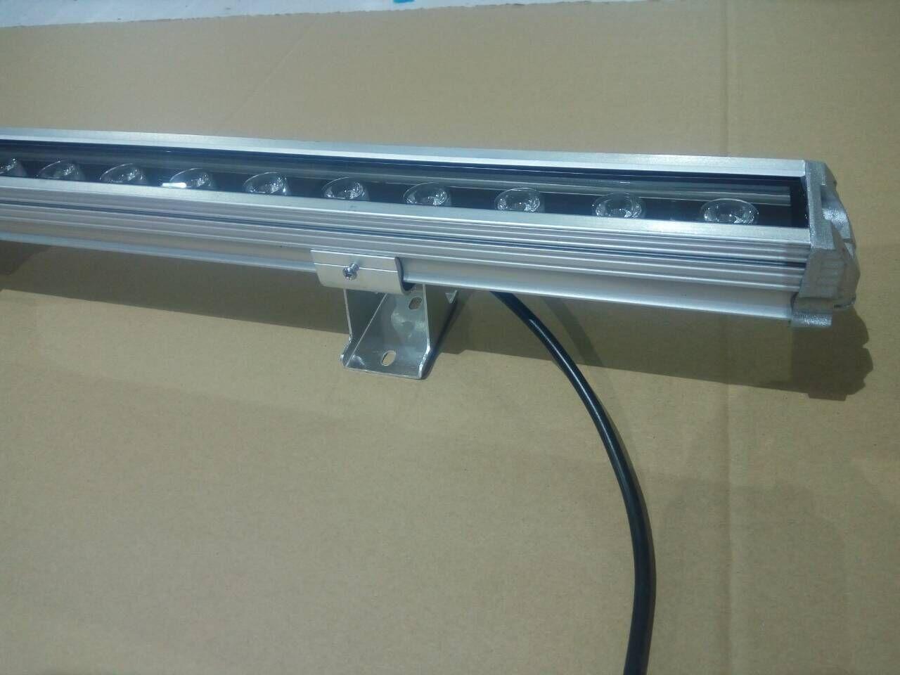 led大功率洗墙灯 七彩洗墙灯 高亮足瓦LED洗墙灯 18w防水洗墙灯示例图6