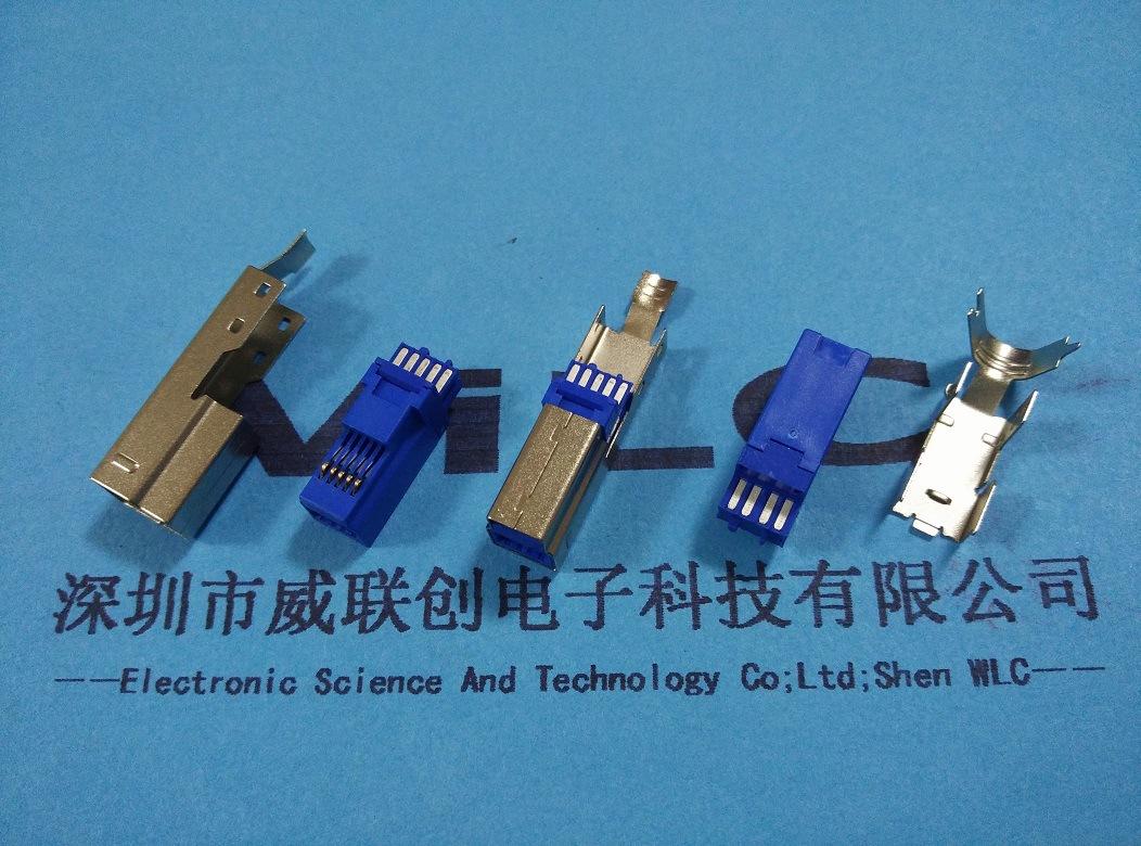 7. BM 三件套 焊线式公头 外壳镀金 1U`示例图2