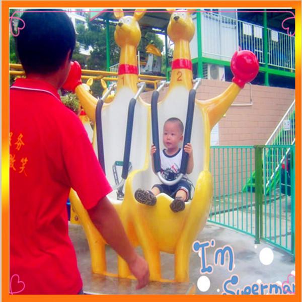 火爆销售8臂疯狂弹跳欢乐袋鼠 好玩刺激的儿童欢乐袋鼠袋鼠跳项目示例图4