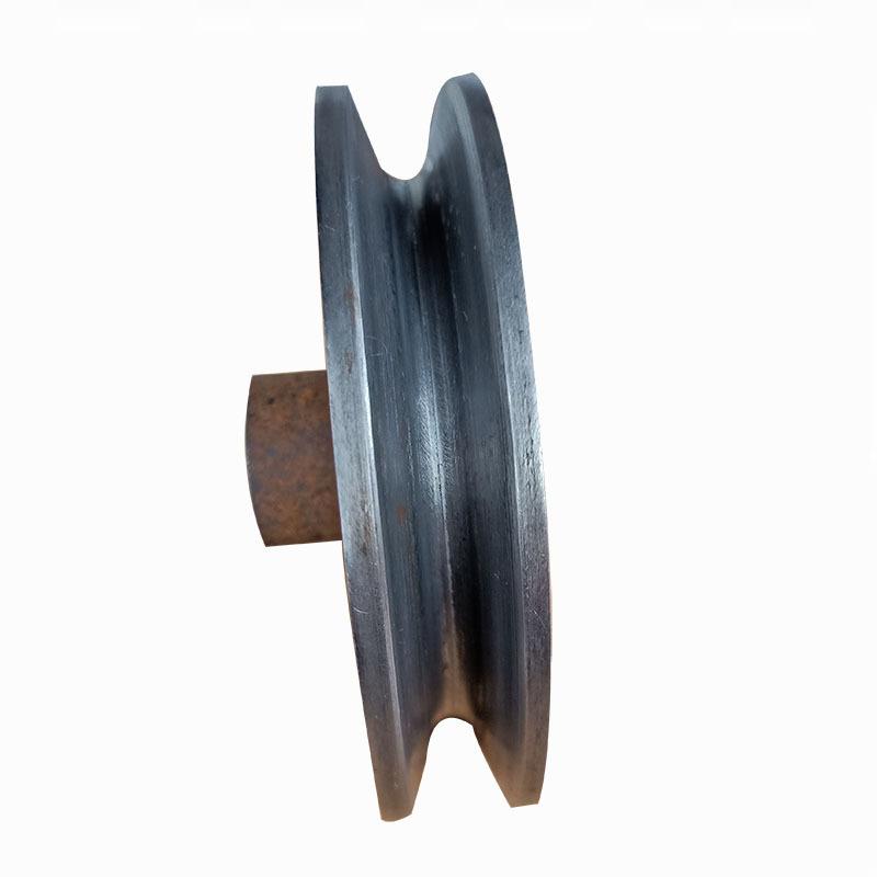 厂家直销劈开式皮带轮 单槽A型直径100皮带轮尺寸精准质量过硬示例图3