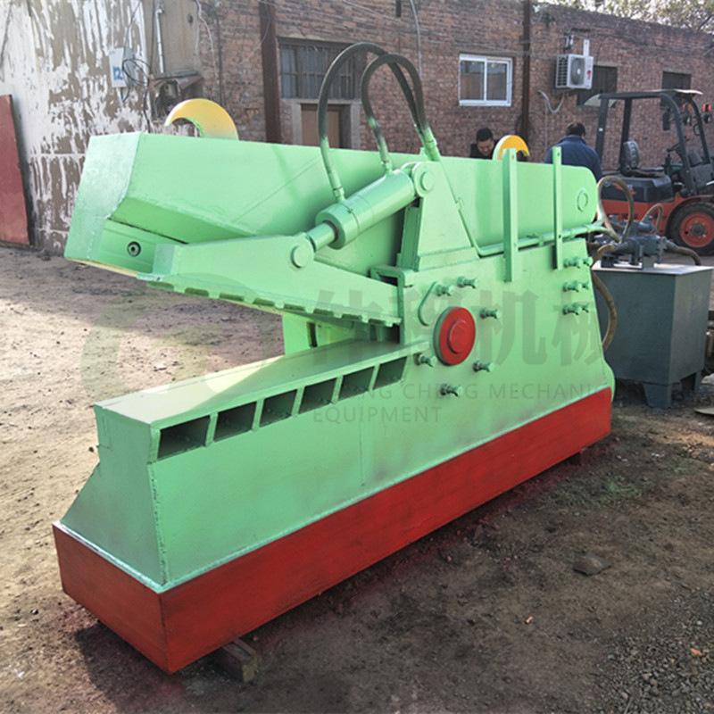 热销废旧金属鳄鱼剪切机 废铁液压鳄鱼剪 300吨钢板边角料剪断机示例图10