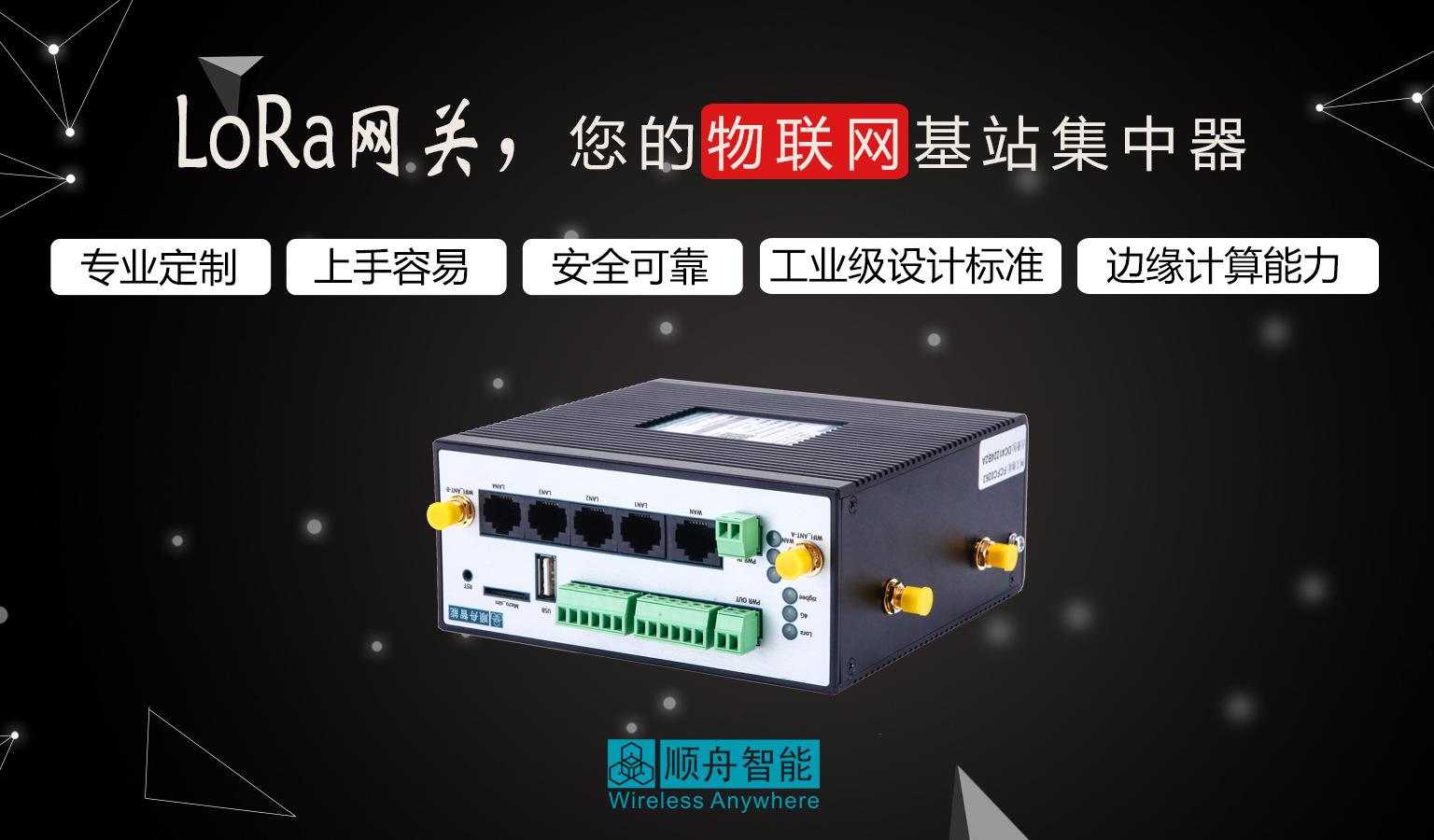 无线通讯lora物联网网关 接口丰富免现场布线 无线长距离数据传输示例图2