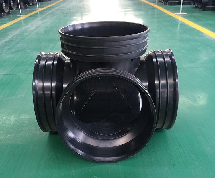 450*300沉泥90°弯头井 塑料检查井 雨水塑料检查井批发示例图7