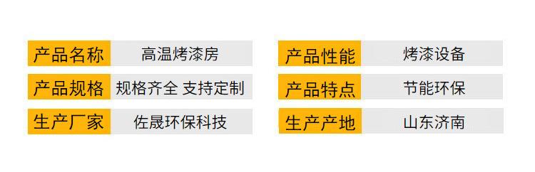 廠家銷售環保高溫烤漆房固化房 支持定制高溫烤漆房示例圖6