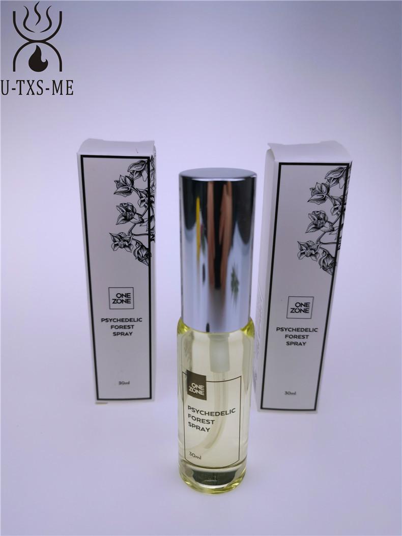 拉管香水玻璃瓶家居植物精油环保空气清新30ml圆形喷雾香薰香水示例图7