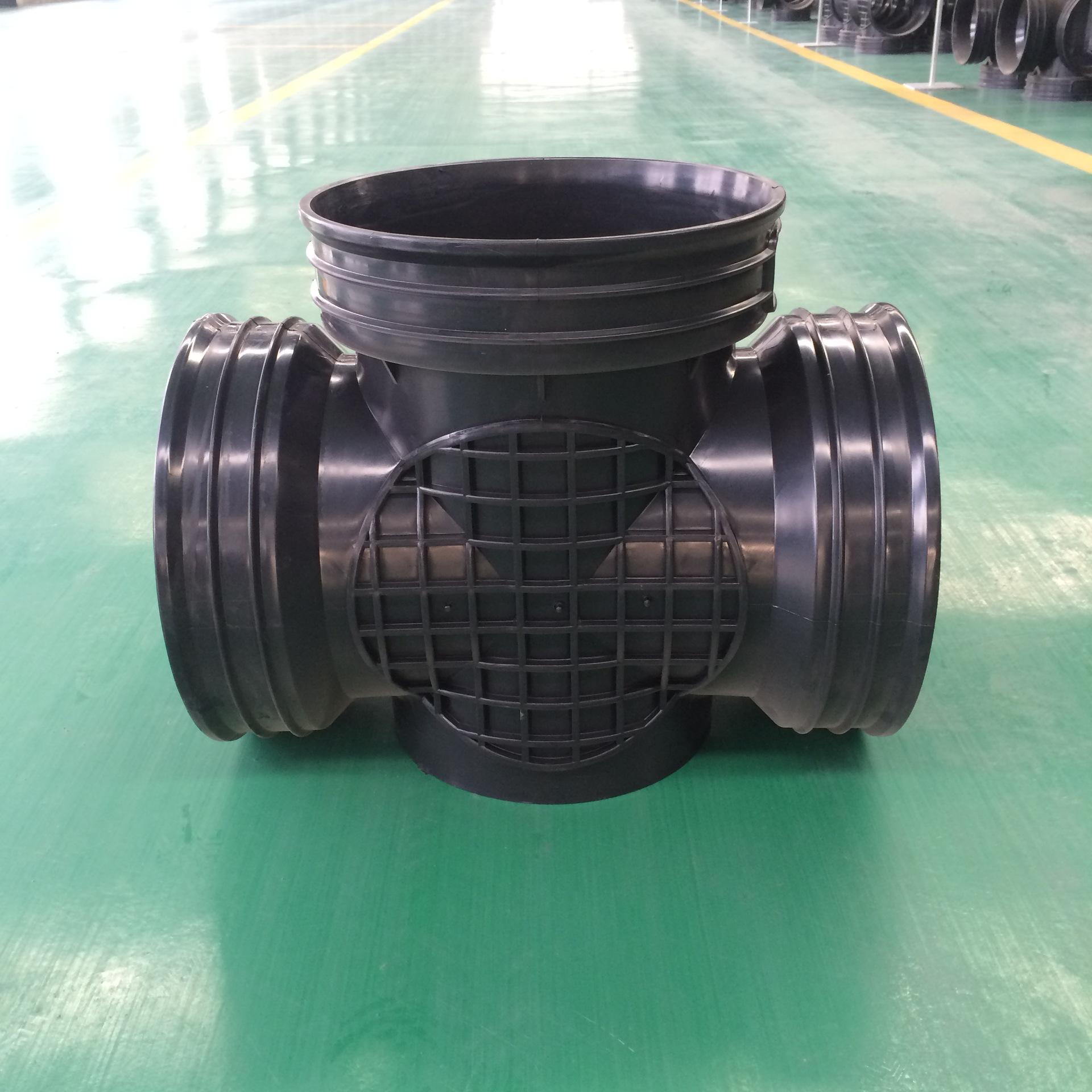 450*300流槽直通井 塑料检查井 华北大型生产厂家 售后服务有保证示例图4