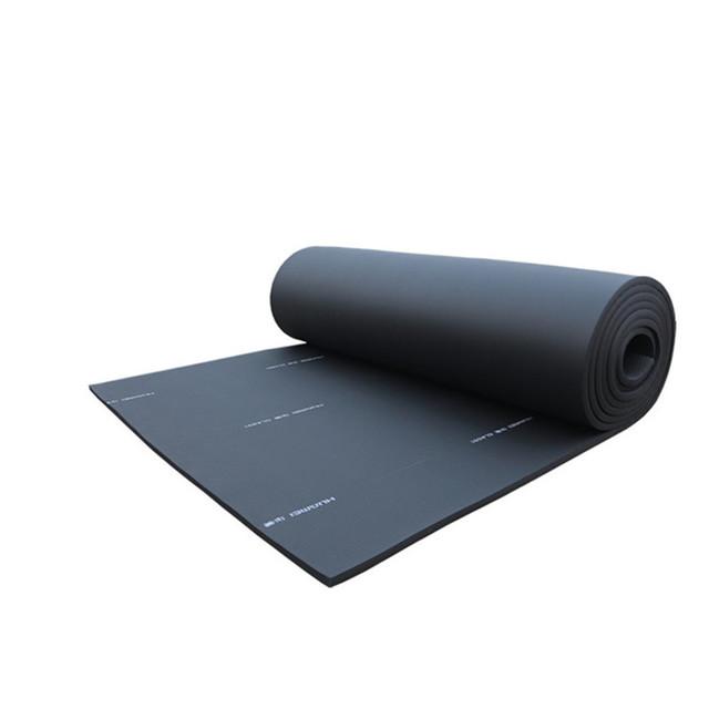 華美橡塑保溫板廠家供應 B1級橡塑海綿保溫板空調管道墻面保溫板