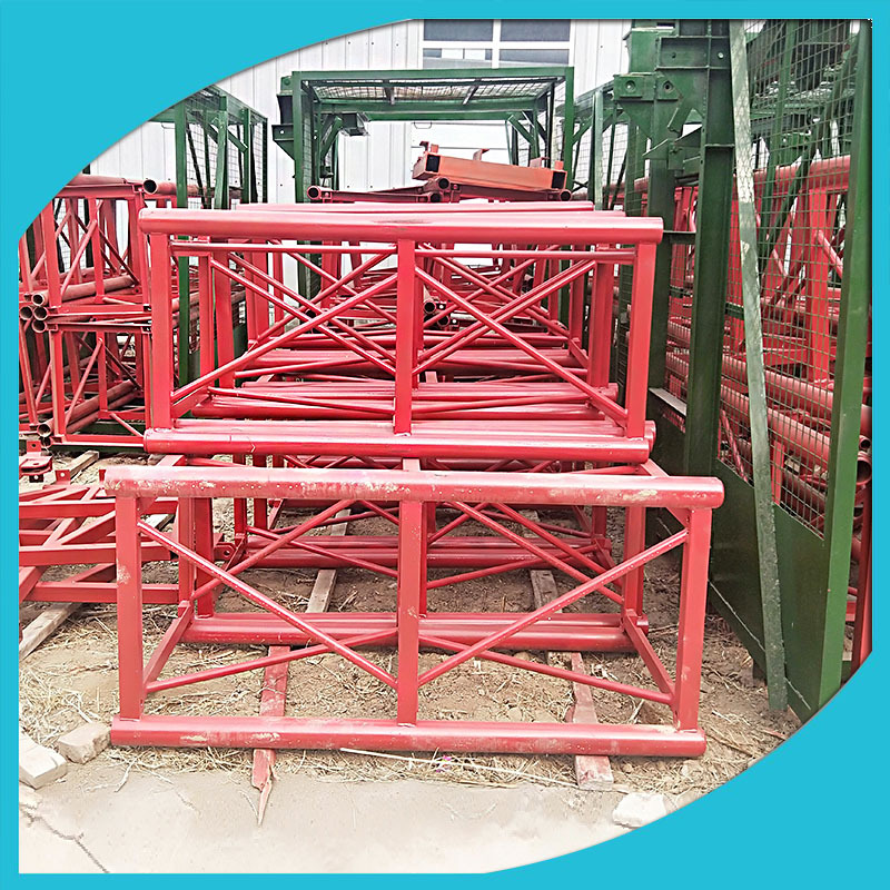标准节定制 施工升降机批发建筑物料提升机ss8080-80标准节厂家示例图4