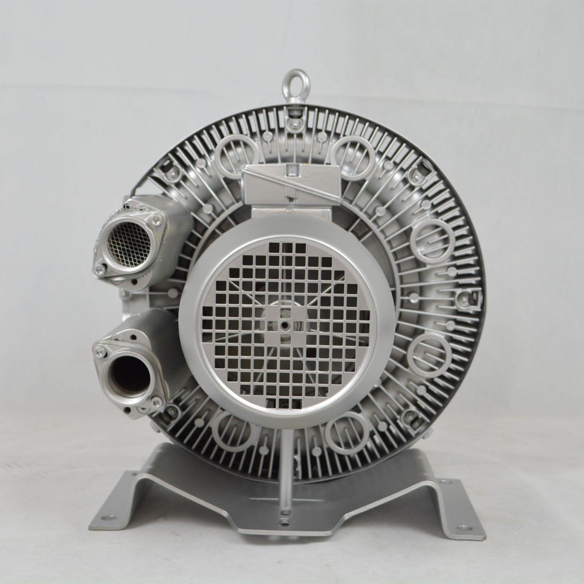 低噪音高壓風機 污水曝氣專用雙葉輪高壓風機 大風量高壓鼓風機示例圖4