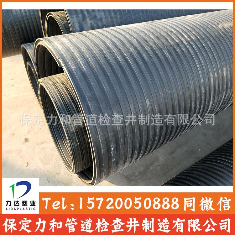 中空壁缠绕管 井壁管 HDPE双平壁缠绕管示例图10