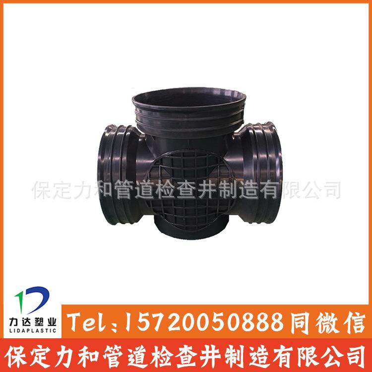 450*300流槽直通井 塑料直通井|排水检查井|河北生产厂家示例图4
