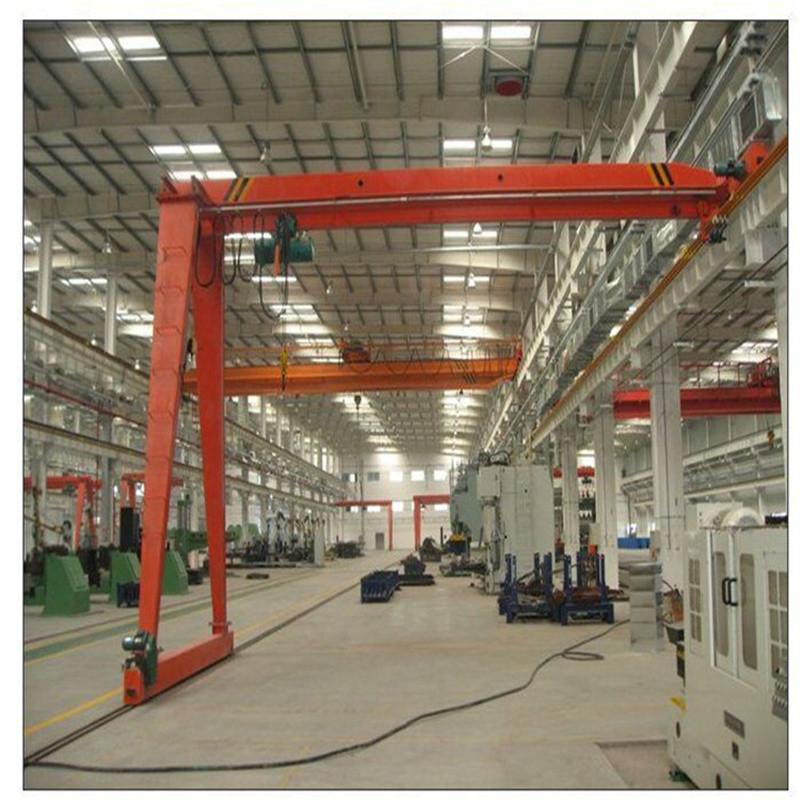 專業生產優質耐用電動葫蘆半門式起重機 5-30t 半門式龍門吊