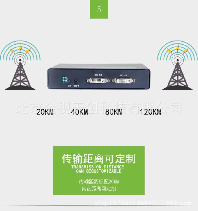 DVI光端機DVI光端機帶環出DVI+音頻+數據光端機示例圖6