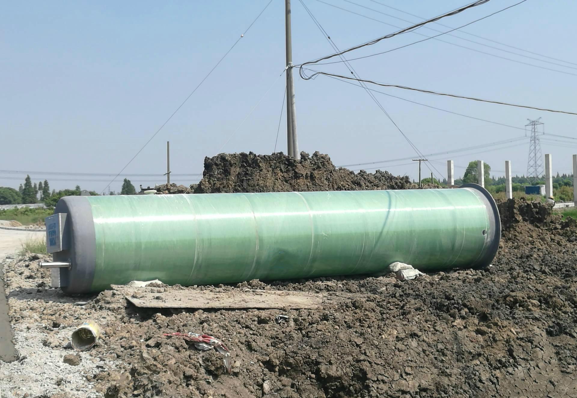 一體化預制污水提升泵站一體化污水提升裝置示例圖3